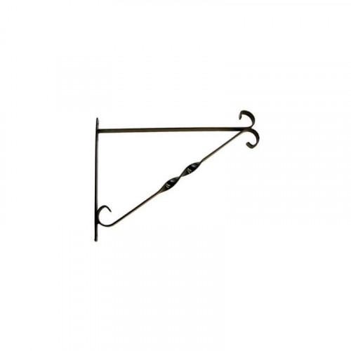 14 Inch Black Hanging Basket Bracket