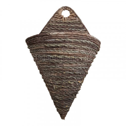 16 Inch Greep Rope Cone Wall Hanging Basket