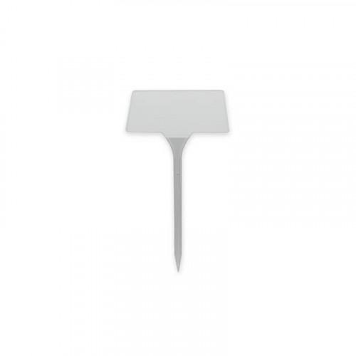 27cm White Angled Head Label - 50 Pack