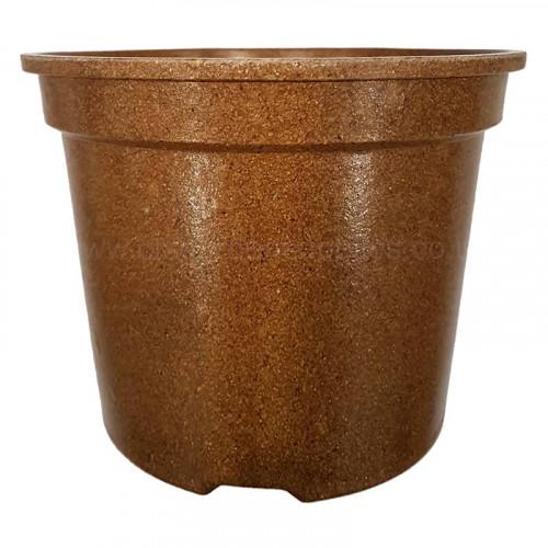 2L Natural Biodegradeable Plant Pot