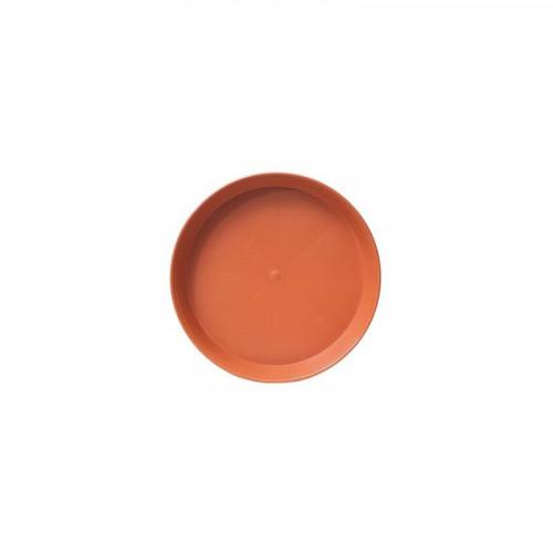 40cm Round Plastic Terracotta Saucer
