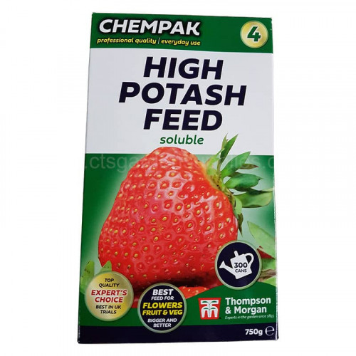 Chempack No 4 High Potash Soluble Plant Foode - 750g