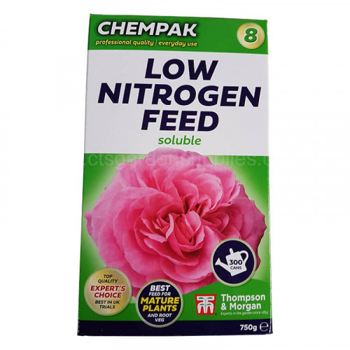 Chempak No 8 Low Nitrogen Soluble Plant Food - 750g