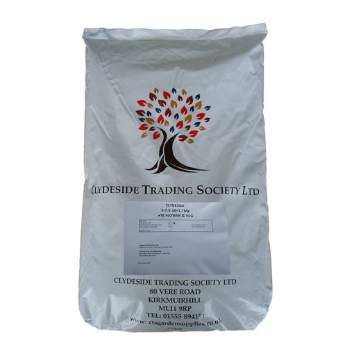 CTS Flower and Vegetable 5-7.5-10 Powder - 25kg