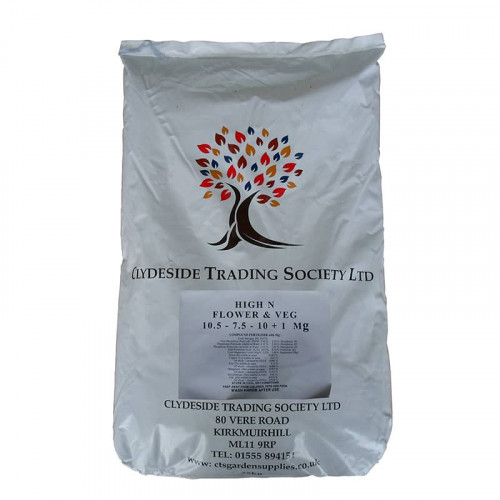 CTS Flower and Vegetable High Nutrient Powder - 25kg