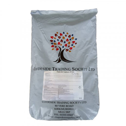 CTS Sulphate of Iron - 25kg