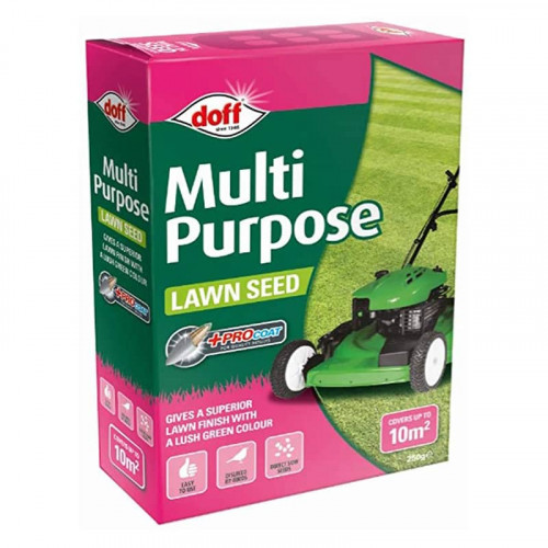 Doff Multi-Purpose Lawn Seed with ProCoat - 250g 10m2