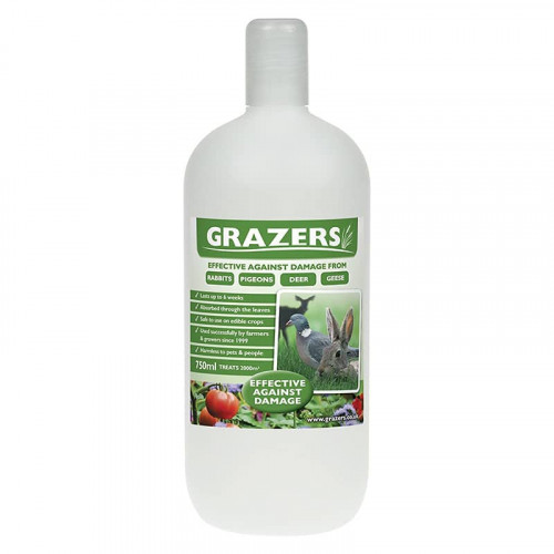 Grazers G1 Repellent Rabbits, Pigeons, Deer and Geese RTU - 750ml