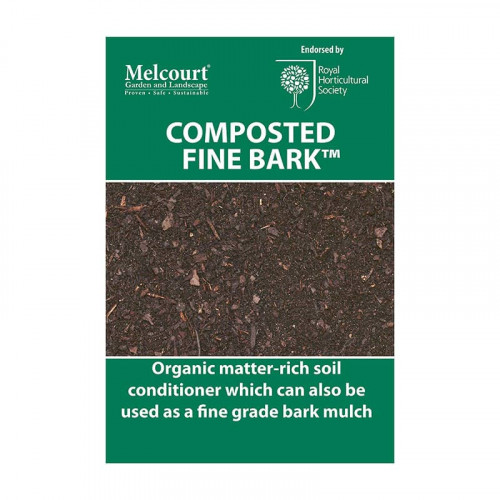 Melcourt Composted Fine Bark - 50L