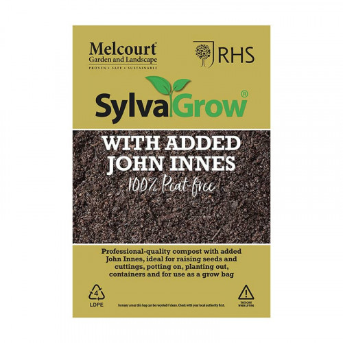 Melcourt SylvaGrow All Purpose Peat Free Compost with added John Innes - 50L