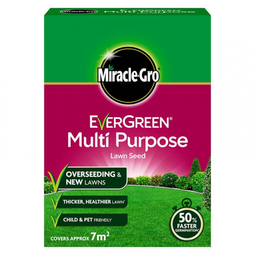 Miracle Gro Evergreen Multi Purpose Lawn Seed - 210g 7m2