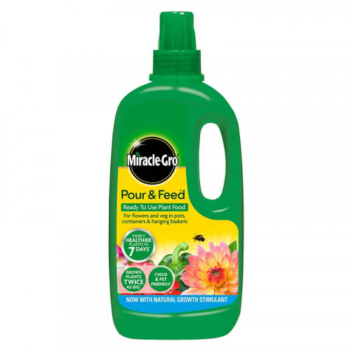 Miracle-Gro Pour & Ready to Use Plant Food - 1L