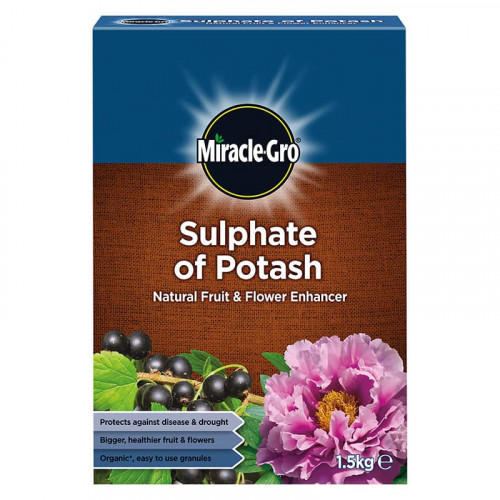 Miracle-Gro Sulphate of Potash Fruit & Flower Enhancer - 1.5kg