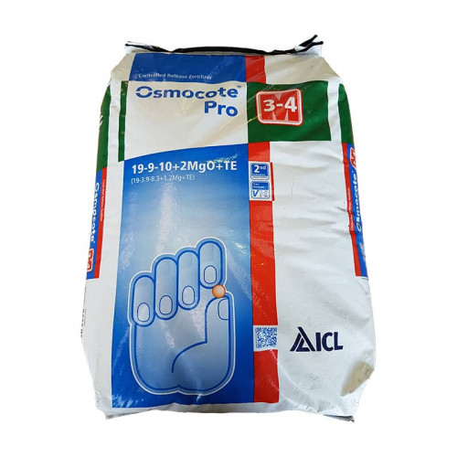 Osmocote Pro 3/4 Month Slow Release Fertiliser 19-9-10 - 25kg