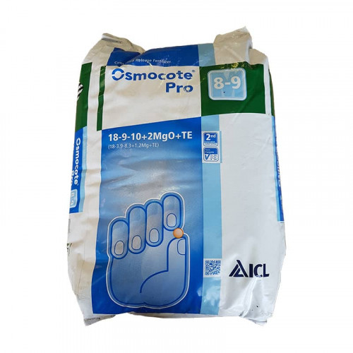 Osmocote Pro 8/9 Month Slow Release Fertiliser 18-9-10 - 25kg