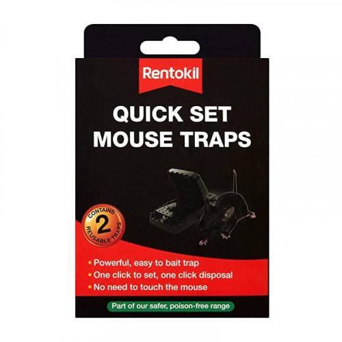 Rentokil Quick Set Mouse Trap - set of 2