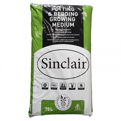 Sinclair Growing Medium Potting & Bedding Compost - 75L
