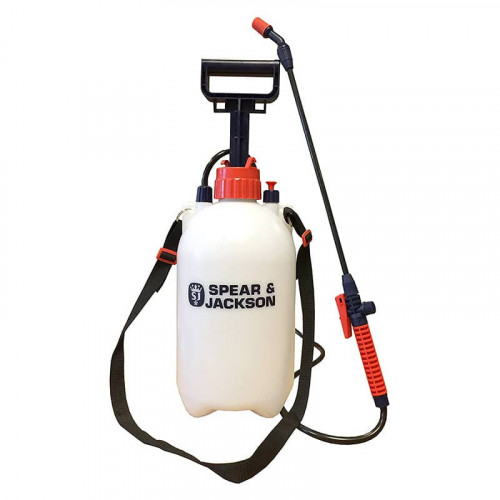 Spear and Jackson 5L Pump Action Pressure Sprayer