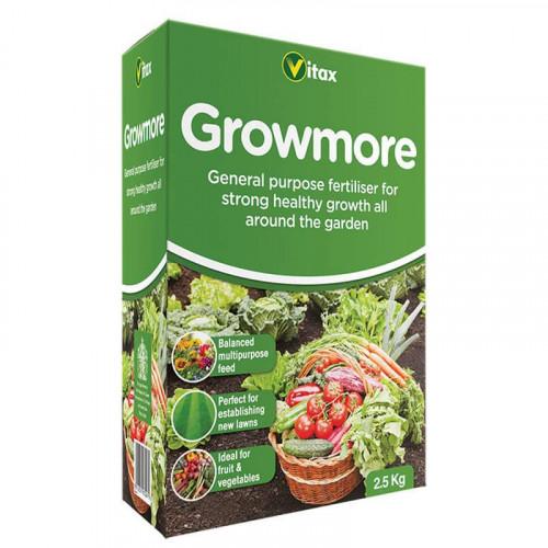 Vitax Growmore Garden Fertiliser - 2.5kg