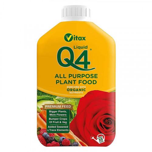 Vitax Q4 All Purpose Liquid Plant Food - 1L