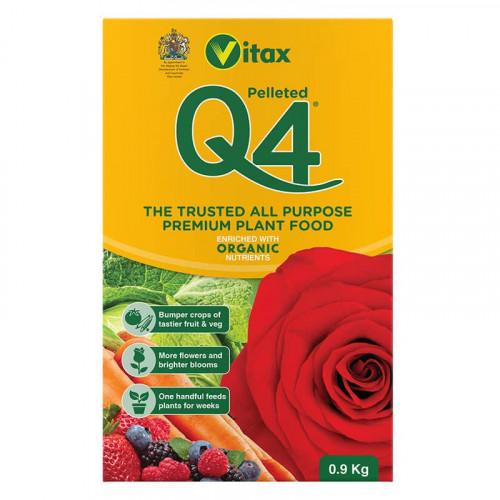 Vitax Q4 All Purpose Plant Food - 0.9kg
