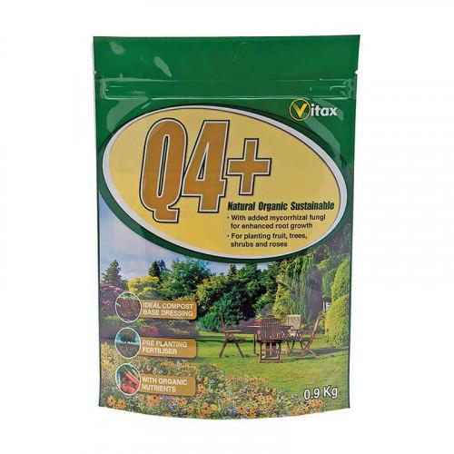 Vitax Q4 Plus Fertiliser Plant Food - 0.9kg