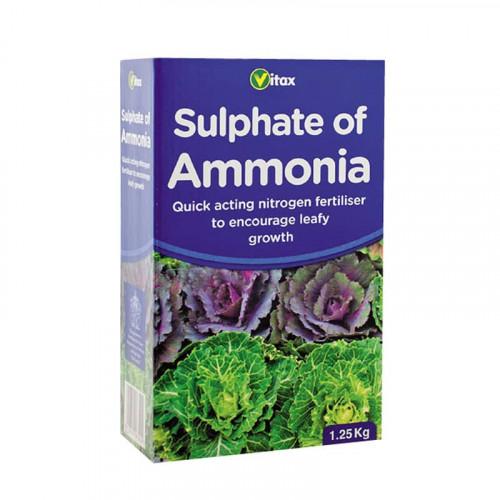 Vitax Sulphate of Ammonia Fertiliser - 1.25kg